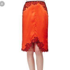 Rag & Bone silk and lace skirt - Sz 0